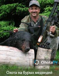 Охота на бурых медведей в провинции Нью-Брансуик