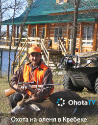 Охота на оленя в Квебеке. Поместье Firemond