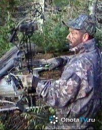 Охота на чернохвостого оленя с луком