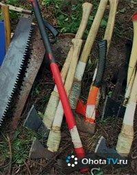 Приспособления для заготовки дров. Часть 1