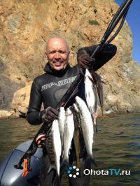 Подводная охота с Андреем Лагутиным 2