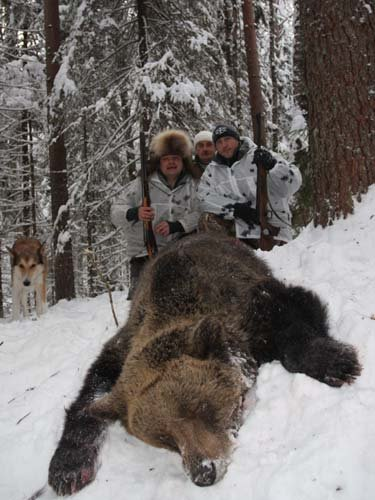 Основной инстинкт. Охота на медведя шатуна