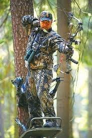 Охота с луком на кабана